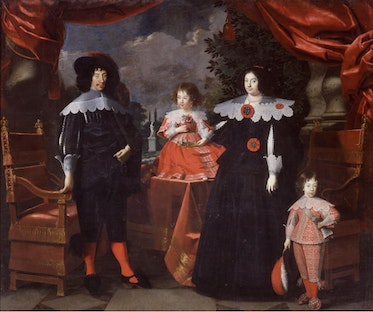 Francesco I d'Este and Family